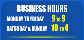Opening business hours